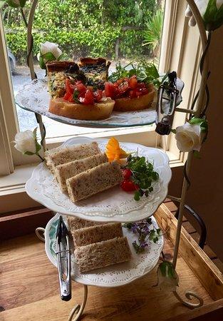 Rainbow Falls Tea House: High Tea savouries