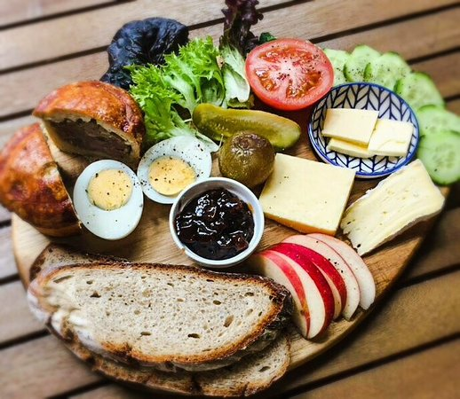 Rainbow Falls Tea House NEW traditional Ploughmans Lunch