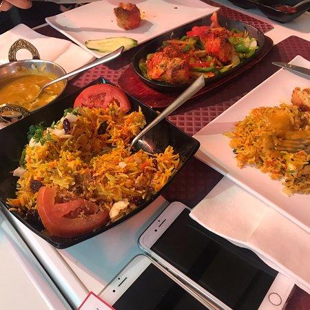 Excellent Indian cuisine
