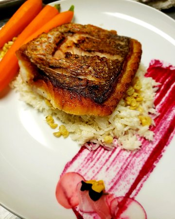 Colts Neck, NJ: Pan Seared Snapper
