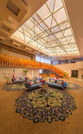 Babolsar, Iran: Hotel lobby