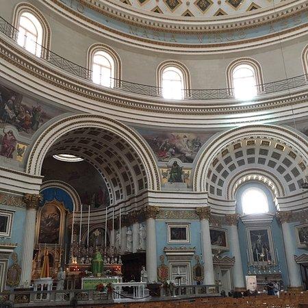 Mosta church - モスタ、ロタン...