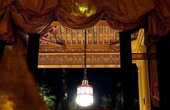 La Mamounia: Détail de plafond