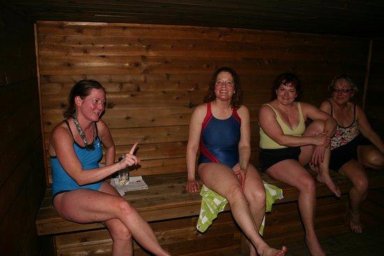 Isabella, MN: Sauna