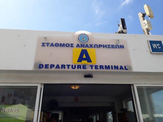 Athinios Port Santorini