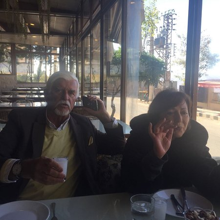 Bloudan, Syria: A great lunch with some great friends...
