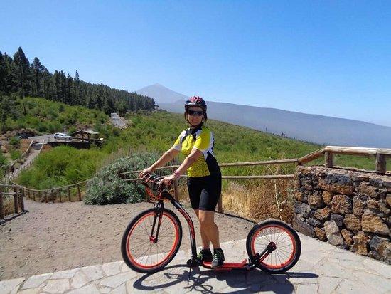 Downhill el Teide