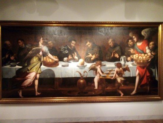 Interior del Museo.Coleciones de pintura.3º Planta del Museo.