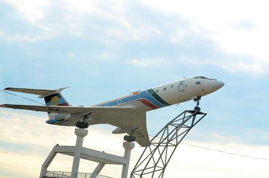 Monument TU-134