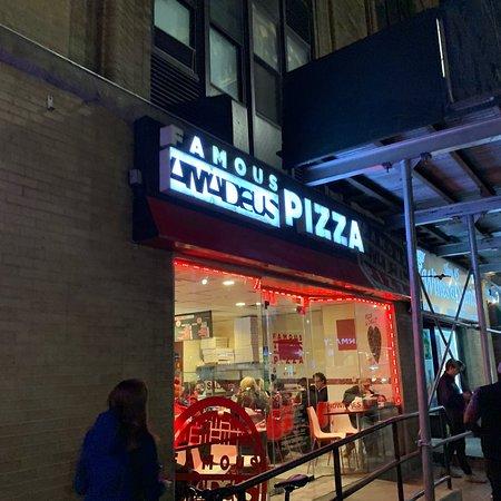 Famous Amadeus Pizza Picture