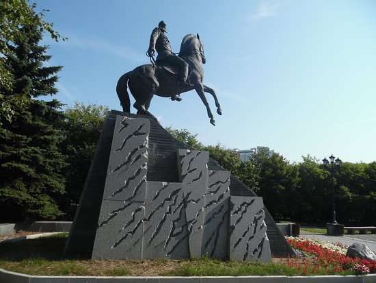 Monument to General Mikhail Skobelev