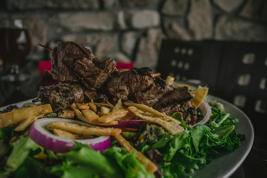 Come try any of our delicious salads  Featured here is our amazing Beef salad