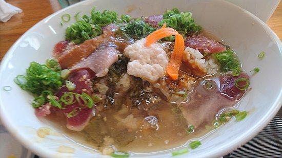 Kuroshio-cho, ญี่ปุ่น: かつおの味噌茶漬け