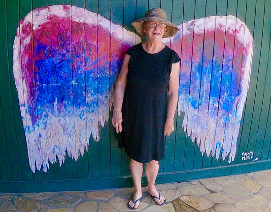 Spending time with the angels in Haleiwa, Hawaii on the North Shore of Oahu.