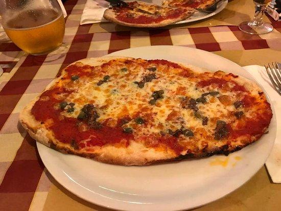 La Brusketta: La pizza allungata croccantissima! XD