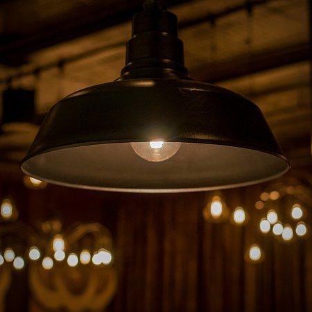 Bar lights / main dining room