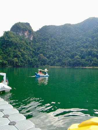 Pulau Dayang, Malaysia: swan boat