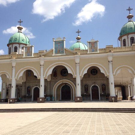 Bole medhinalem church one of place for worship ,In Addis Ababa