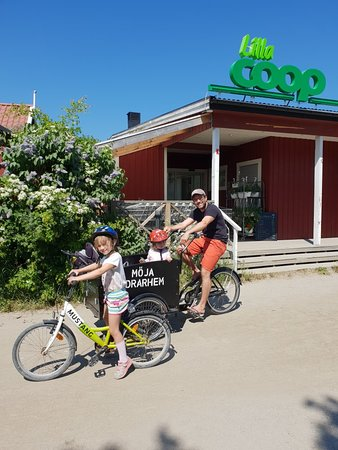 Möja Hostel Bike and Cargo Bike Rental