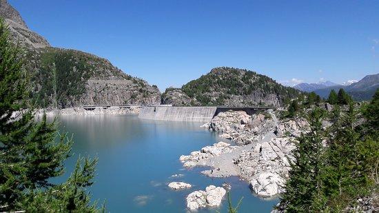 Finhaut, Suisse : Barrage d' Emosson