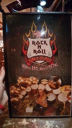 Rock n Roll Ribs: Меню