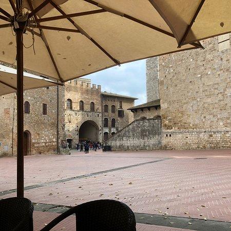 Castel San Gimignano ภาพถ่าย
