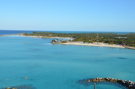 Sandy Point, Great Abaco: A Ilha da Disney - Castaway Cay - é maravilhosa