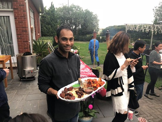 BBQ Home Catering service at Shanghai Links