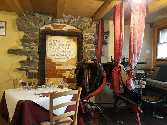 Prata Camportaccio, Italie : sala da pranzo