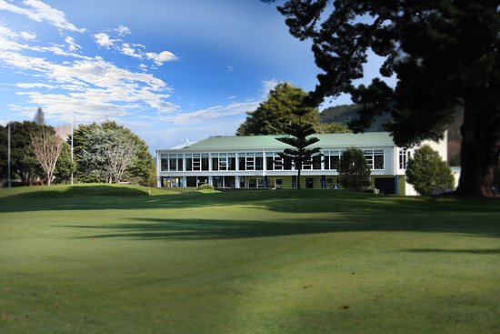 Lower Hutt, Nova Zelândia: Manor Park Golf Sanctuary clubhouse