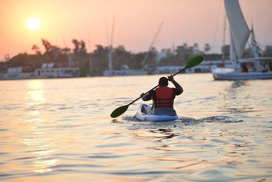 Tiba Kayak Luxor