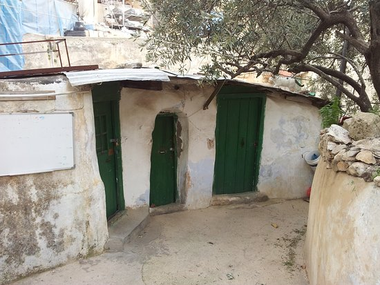 Distrito de Jerusalém, Israel: Dir el Sultan. Il villaggio etiope sopra il Santo Sepolcro