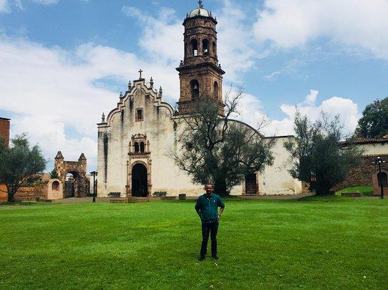 Museo Antiguo Convento Franciscano De Santa Ana de Tzintzuntzan: tzintzuntzan,tierra de colibries, Patzcuaro, Michoacan, Mexico