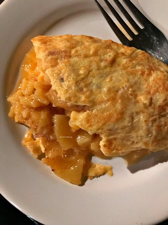 Tortilla or Spanish omelet from Bodeda La Ardosa in Madrid - considered to be one of the best tortillas in the city.