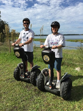 Wilderness Back Trail Adventure Segway Tour