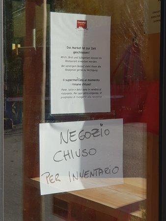 Leider wurde der Shop ohne Ankündigung geschlossen. (für einen ganzen Monat)
