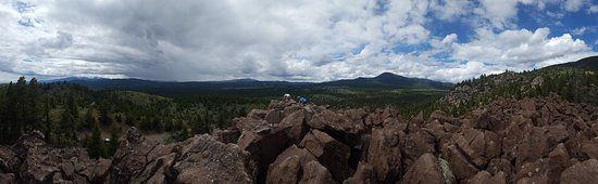 Whitehall, MT: Pano of the Ringing Rocks