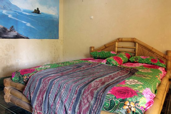 Gerupuk, Indonesien: Double room