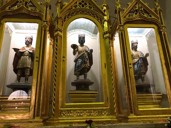 Tizimin, Messico: exposición de los tres reyes magos...