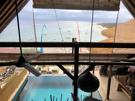 Lembongan Harmony Villas: View from the top bedroom