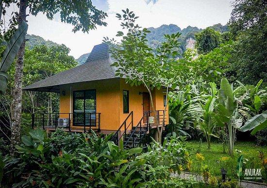 Entrance - Picture of Anurak Community Lodge, Khlong Sok - Tripadvisor