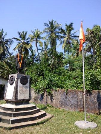Shrivardhan, India: The statue memorial