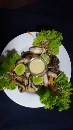 Kuma Seafood Restaurant: Calamary