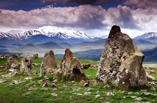Karahunj, Armenia It is a prehistoric archaeological site near the town of Sisian in the Syunik Province of Armenia.