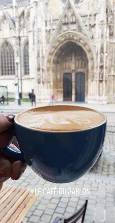 Cafe Du Sablon : Cappuccino