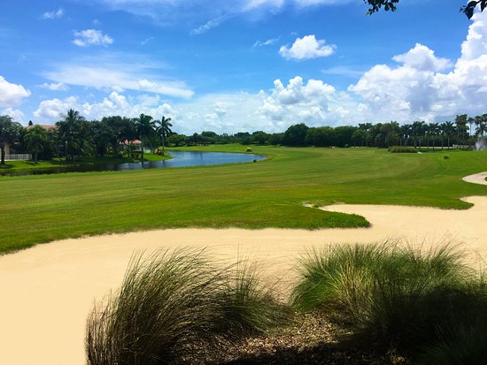 Lake Worth, FL: Hole #9 Par 5