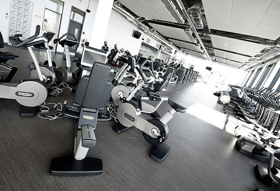 Ashington Gym using latest TechnoGym equipment