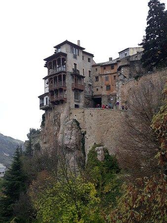 Historic Walled Town of Cuenca: Casas colgadas