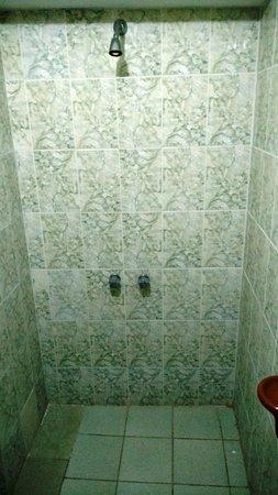 Villazon, Bolivia: shower