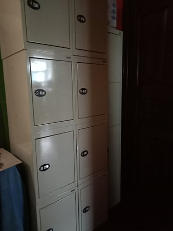 Hostel Time at the Red Gate: Lockers for valuables